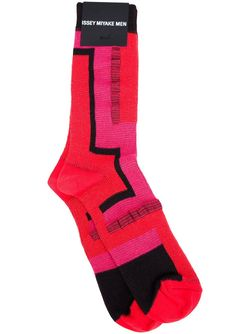 Носки С Узором Issey Miyake                                                                                                              красный цвет