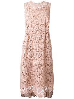 Платье С Вышивкой Muveil                                                                                                              розовый цвет
