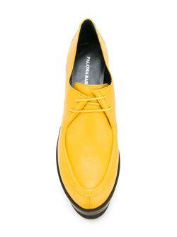 Туфли На Танкетке Paloma Barceló                                                                                                              желтый цвет