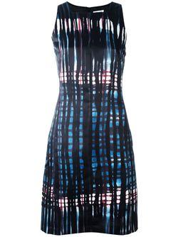 Платье С Абстрактным Узором Tomas Maier                                                                                                              черный цвет