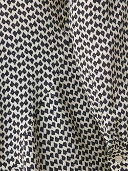 Блузка С Баской Derek Lam                                                                                                              черный цвет