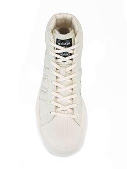 Хайтопы Adidas X Rick Owens                                                                                                              Nude & Neutrals цвет