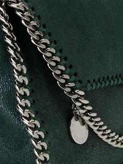 Сумка На Плечо Falabella Shaggy Deer Stella Mccartney                                                                                                              зелёный цвет