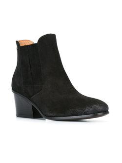 Ботинки На Массивном Каблуке Buttero                                                                                                              чёрный цвет