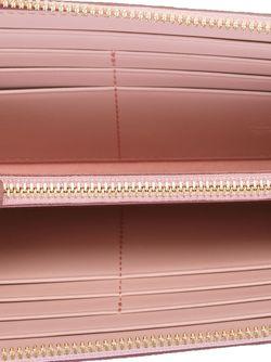 Кошелек С Круговой Молнией MCM                                                                                                              розовый цвет