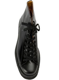 Ботинки На Шнуровке Yohji Yamamoto                                                                                                              черный цвет