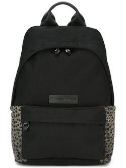 Рюкзак С Леопардовыми Панелями Mcq Alexander Mcqueen                                                                                                              чёрный цвет