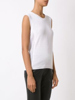 Knit Tank Top MARTHA MEDEIROS                                                                                                              белый цвет
