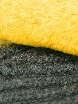 Митенки С Меховой Отделкой Marni                                                                                                              желтый цвет