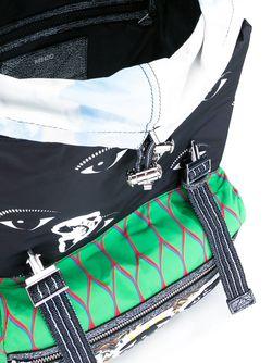 Рюкзак Со Смешанным Принтом Kenzo                                                                                                              многоцветный цвет