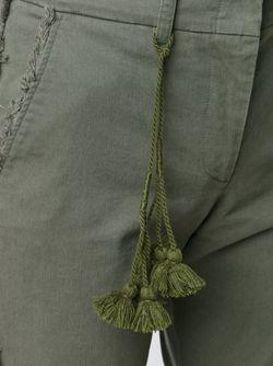 Брюки Gregorie С Бахромой FIGUE                                                                                                              зелёный цвет