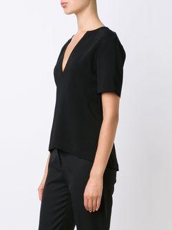 Блузка C V-Образным Вырезом A.L.C.                                                                                                              черный цвет