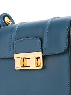 Mini Jiji Shoulder Bag Lanvin                                                                                                              синий цвет
