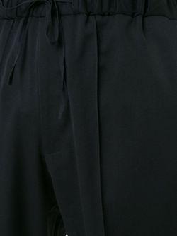 Брюки С Заниженной Проймой AGANOVICH                                                                                                              чёрный цвет