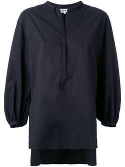 Блузка С Епископскими Рукавами ENFÖLD                                                                                                              чёрный цвет