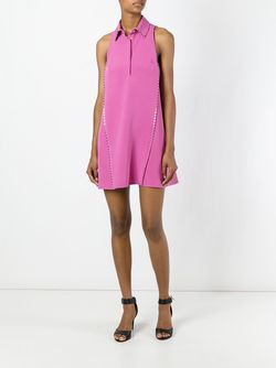 Платье Без Рукавов Versace                                                                                                              розовый цвет
