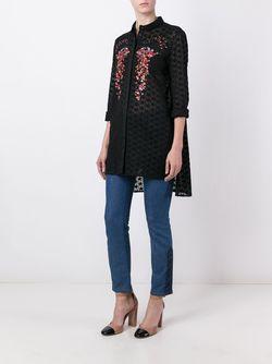 Рубашка С Вышивкой GIAMBA                                                                                                              чёрный цвет