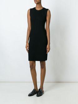 Приталенное Платье Без Рукавов Vince                                                                                                              чёрный цвет