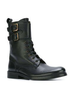 Ботинки С Ремешками Cotélac                                                                                                              чёрный цвет