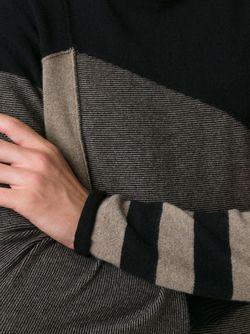 Джемпер С Панельным Дизайном ZIGGY CHEN                                                                                                              синий цвет
