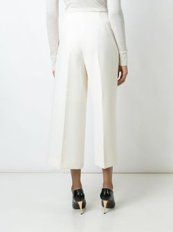 Cropped Wide Leg Trousers Marni                                                                                                              Nude & Neutrals цвет