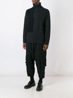 Брюки H Yohji Yamamoto                                                                                                              чёрный цвет