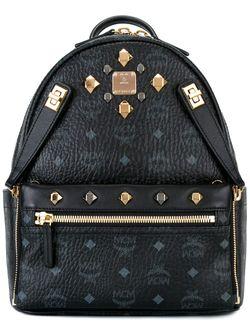 Рюкзак С Логотипом MCM                                                                                                              черный цвет
