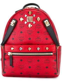Рюкзак С Логотипом MCM                                                                                                              красный цвет