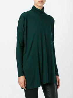 Джемпер С Высоким Горлом MM6 by Maison Margiela                                                                                                              зелёный цвет