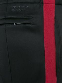 Спортивные Брюки С Лампасами Burberry London                                                                                                              черный цвет