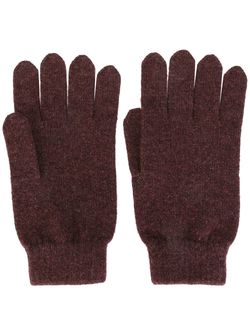 Перчатки Ребристой Вязки N.PEAL                                                                                                              розовый цвет