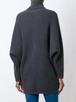 Джемпер С Отворотом N.PEAL                                                                                                              серый цвет
