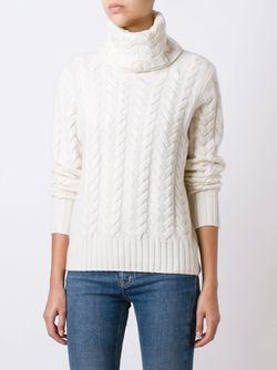 Джемпер Крупной Вязки N.PEAL                                                                                                              белый цвет