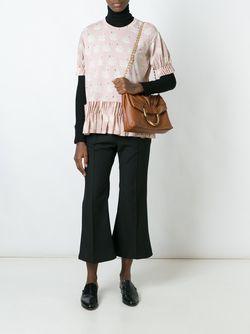 Сумка-Тоут Nina Stella Mccartney                                                                                                              коричневый цвет