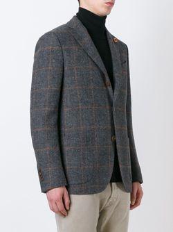 Пиджак В Клетку Lardini                                                                                                              серый цвет