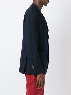 Пиджак На Три Пуговицы Lardini                                                                                                              синий цвет