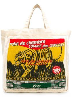 Printed Shopper Comme Des Garcons                                                                                                              Nude & Neutrals цвет