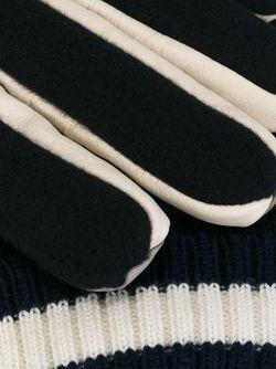 Двухцветные Перчатки GANRYU COMME DES GARCONS                                                                                                              Nude & Neutrals цвет