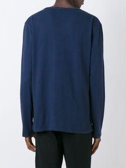 Longsleeved T-Shirt T By Alexander Wang                                                                                                              синий цвет