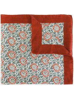 Платок С Абстрактным Узором Massimo Alba                                                                                                              красный цвет
