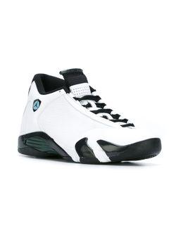 Кроссовки Air Jordan 14 Retro Nike                                                                                                              белый цвет