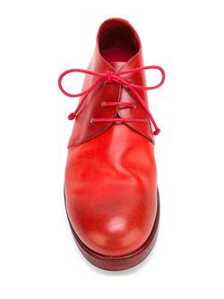 Туфли На Шнуровке Marsell                                                                                                              красный цвет
