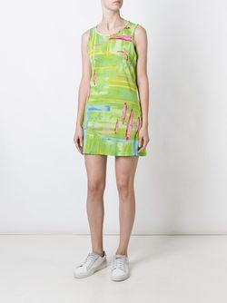 Платье С Узором Kenzo                                                                                                              зелёный цвет