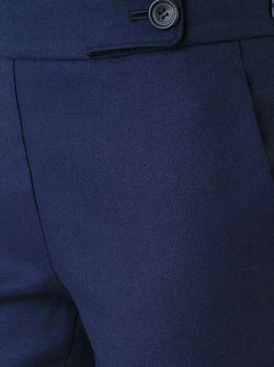 Укороченные Брюки Кроя Скинни Rito                                                                                                              синий цвет
