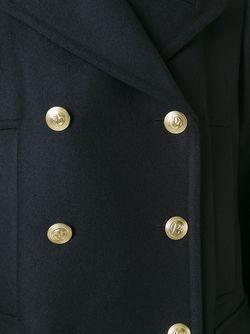 Двубортное Пальто Pierre Balmain                                                                                                              черный цвет