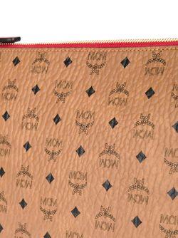 Клатч Со Съемной Лямкой MCM                                                                                                              коричневый цвет