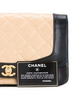 Сумка На Плечо Diana Chanel Vintage                                                                                                              чёрный цвет