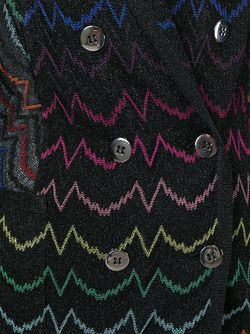 Двубортный Блейзер С Вышивкой Missoni                                                                                                              черный цвет