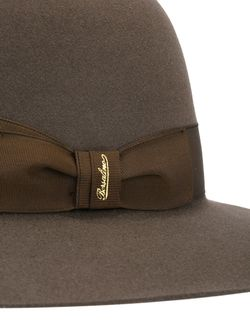 Bow Detail Hat Borsalino                                                                                                              коричневый цвет