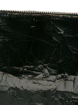 Сумка Через Плечо С Эффектом Потрескавшейся Кожи MM6 by Maison Margiela                                                                                                              чёрный цвет